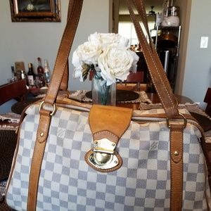 Authentic Louis Vuitton Damier Azur Stresa Gm